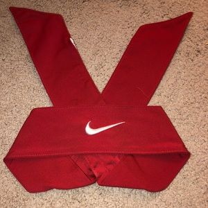 Red Nike Tie Headband
